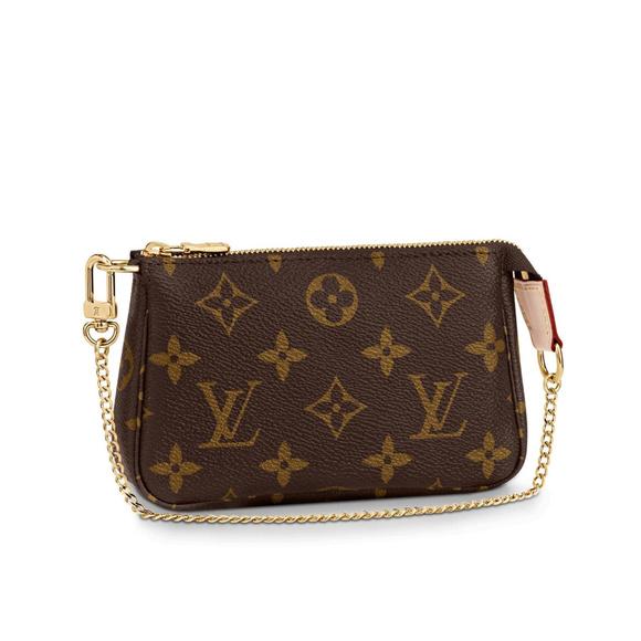 Louis Vuitton Handbags - LOUIS VUITTON Mini Pochette Accessoires Monogram